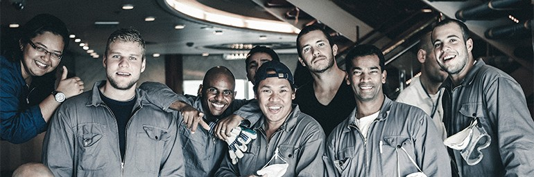 Splendour crew